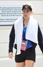 EUGENIE BOUCHARD Arrives at Wimbledon Tennis Championships in London 06/27/2016
