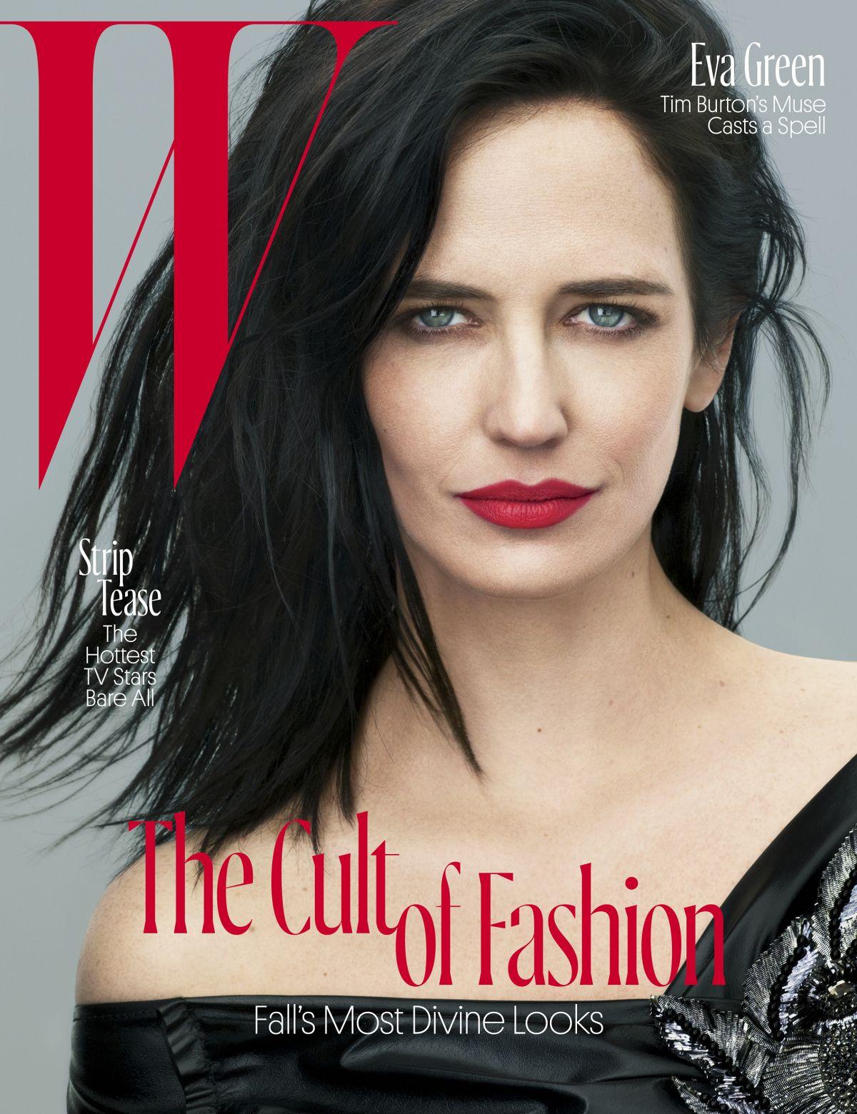 EVA GREEN in W Magazine, August 2016 Issue