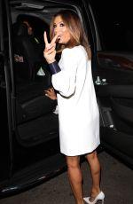 EVA LONGORIA Leaves Hillary CLinton's Fundraiser in Los Angeles 06/06/2016