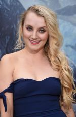 EVANNA LYNCH at 'The Legend of Tarzan' Premiere in Hollywood 06/27/2016