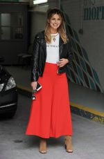 FERNE MCCANN Arrives at This Morning Show in London 06/07/2016
