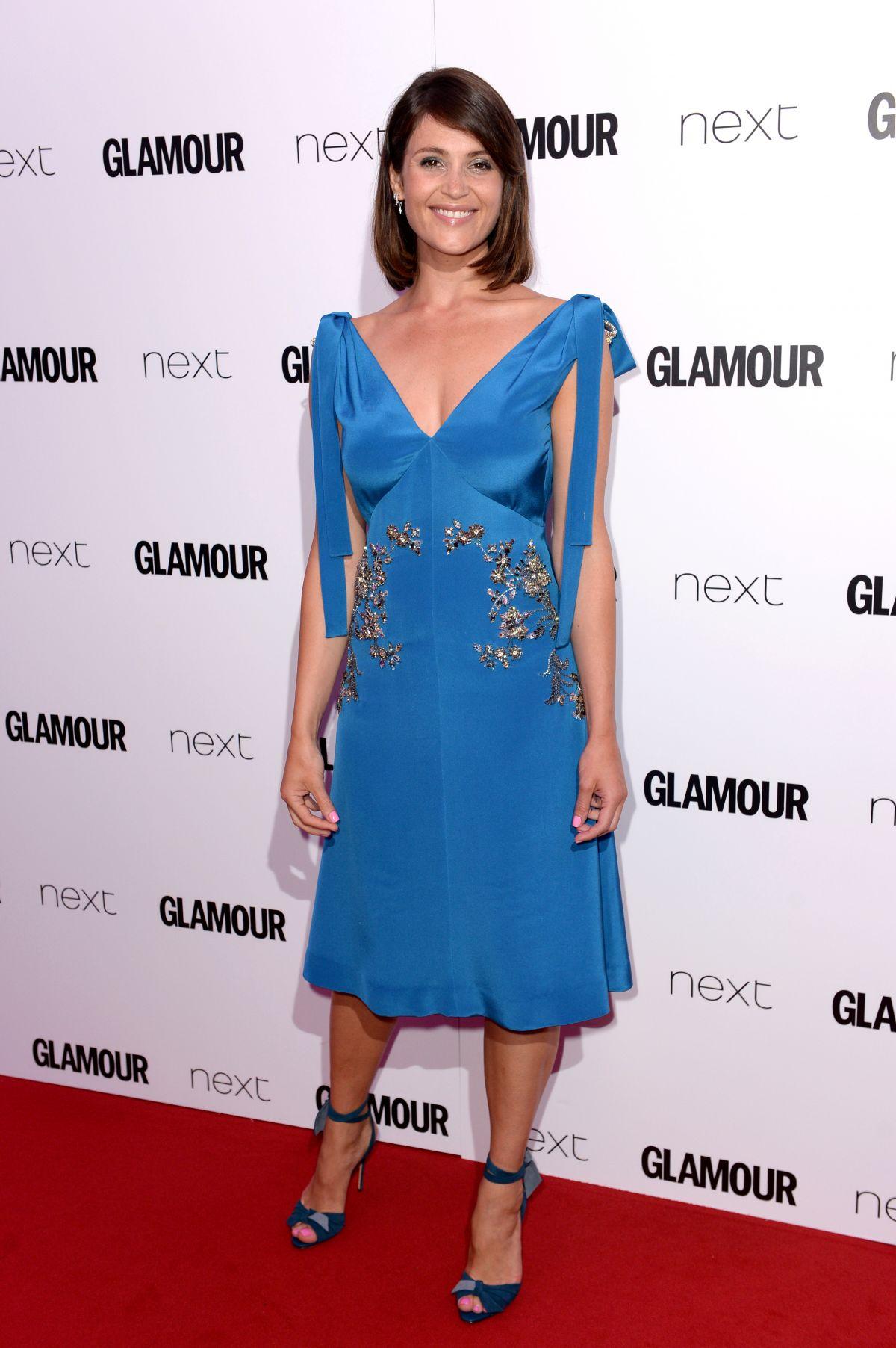 GEMMA ARTERTON at Glamour Women of the Year Awards 2016 in London 06/07/2016