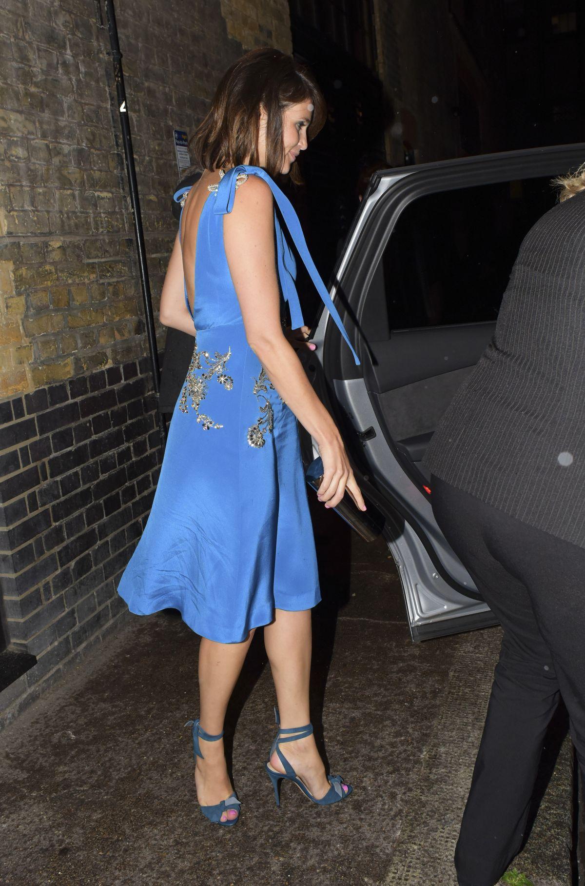 GEMMA ARTERTON Leaves Chiltern Firehouse in London 06/08/2016