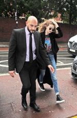 GIGI HADID Out and About in London 06/13/2016