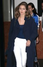GIGI HADID Out and About in New York 06/09/2016