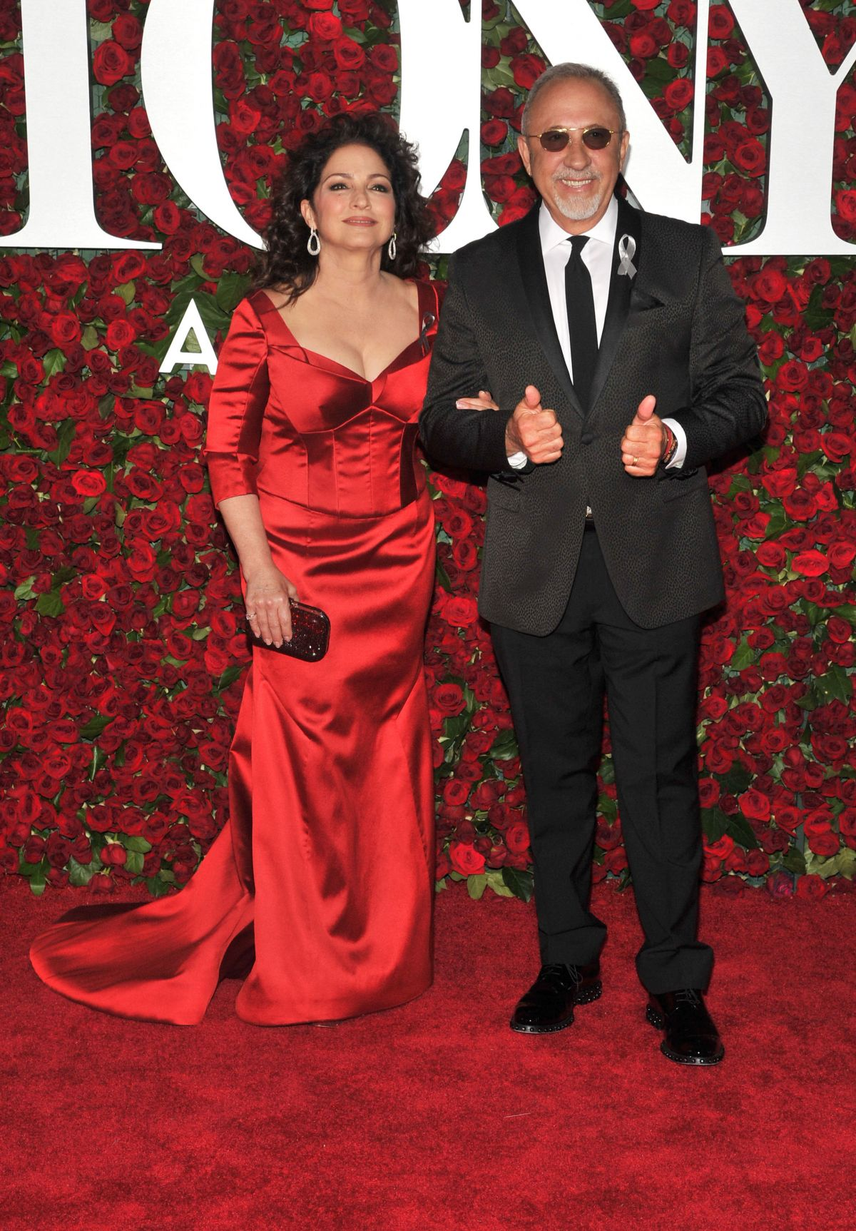 GLORIA ESTEFAN at 70th Annual Tony Awards in New York 06/12/2016