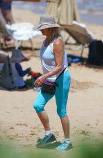 GOLDIE HAWN on the Beach in Wailea 06/15/2016