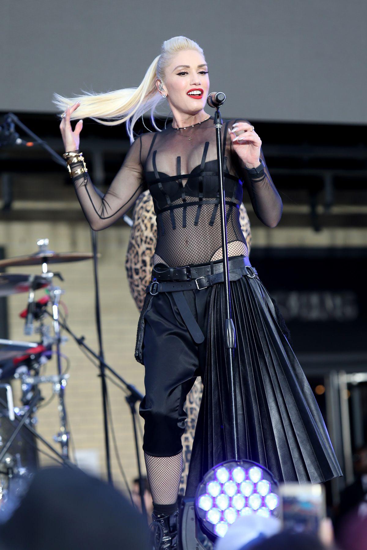 GWEN STEFANI Performs at Samsung 837 in New York 06/02 ...