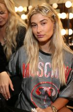 HAILEY BALDWIN at Moschino Fashion Show in Los Angeles 06/10/2016