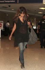 HALLE BERRY at LAX Airport in Los Angeles 06/21/2016