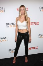 HANNAH FERGUSON at Orange is the New Black Season 4 Premiere in New York 06/16/2016