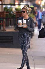 HEIDI KLUM at Starbucks in New York 06/14/2016