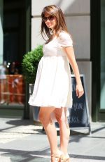 HILARIA BALDWIN Leaves Crosby Hotel in New York 06/22/2016