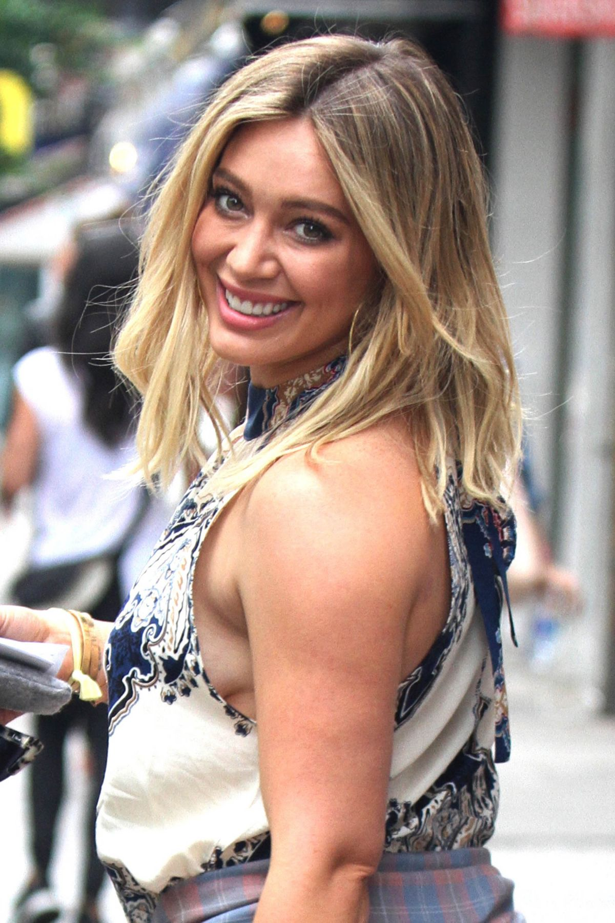 HILARY DUFF at 'Younger' Set in New York 06/16/2016 ... Hilary Duff