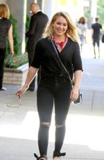 """HILARY DUFF in the Set of """"Younger"""