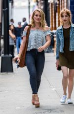 HILARY DUFF Out and About in New York 06/07/2016