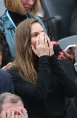 HILARY SWANK at French Tennis Open Final 2016 at Roland Garros 06/05/2016