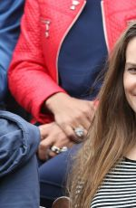 HILARY SWANK at Roland Garros French Open in Paris 06/04/2016