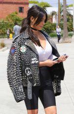 KIM KARDASHIAN Arrives at a Meeting in Santa Monica 05/31/2016