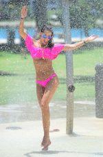 JENNIFER NICOLE LEE in Bikini at a Beach in Miami 06/01/2016