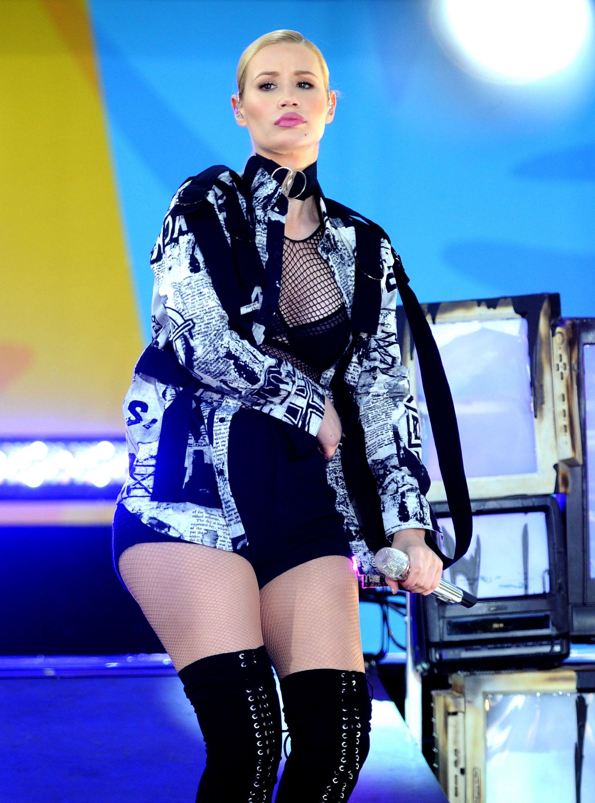 Iggy Azalea Performs At Good Morning America Summer