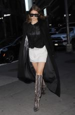 GIGI HADID Out in New York 06/17/2016