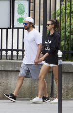 IRINA SHAYK and Bradley Cooper Out in Paris 06/22/2016