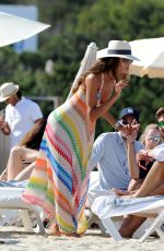 IZABEL GOULART in Bikini at a Beach in Ibiza 06/17/2016