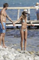 IZABEL GOULART in Bikini at a Beach in Ibiza 06/18/2016