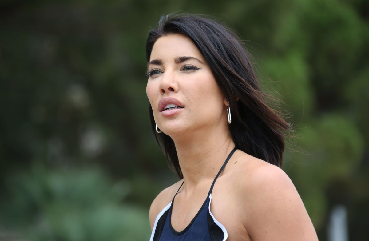 JACQUELINE MACINNES WOOD in Bikini at a Beach in Monte ...