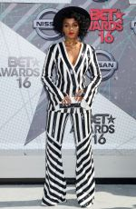 JANELLE MONAE at 2016 BET Awards in Los Angeles 06/26/2016
