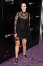 JENA MALONE at 'The Neon Demon' Premiere in Los Angeles 06/14/2016