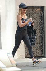 JENNIFER ANISTON Heading to a Gym in New York 06/27/2016