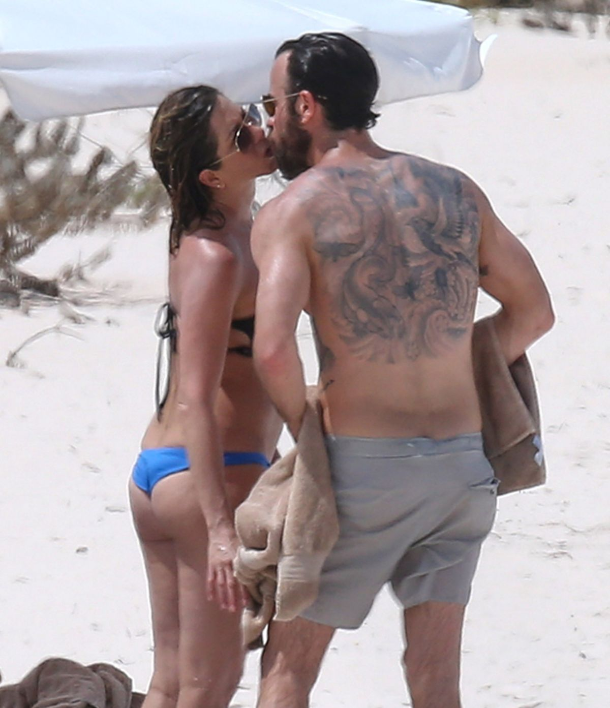 Guys aniston up her ass bikini
