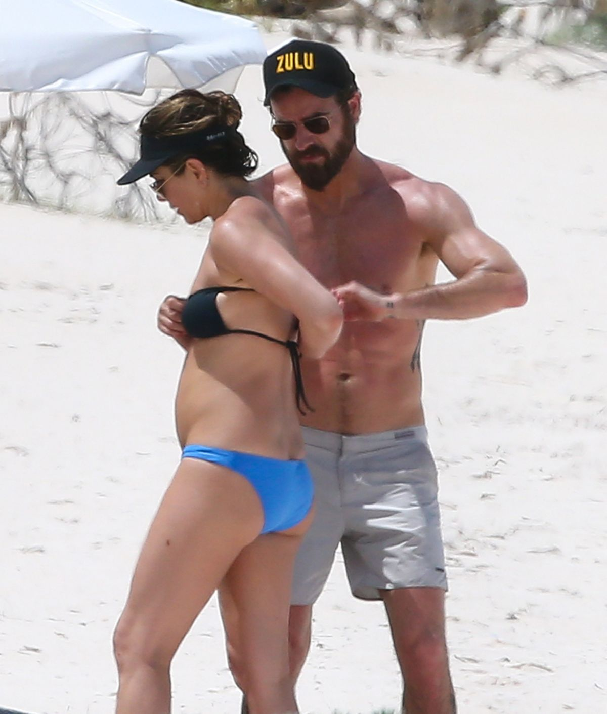 Jennifer aniston bikini in people