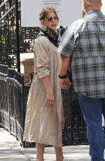 JENNIFER ANISTON Out and About in New York 06/14/2016