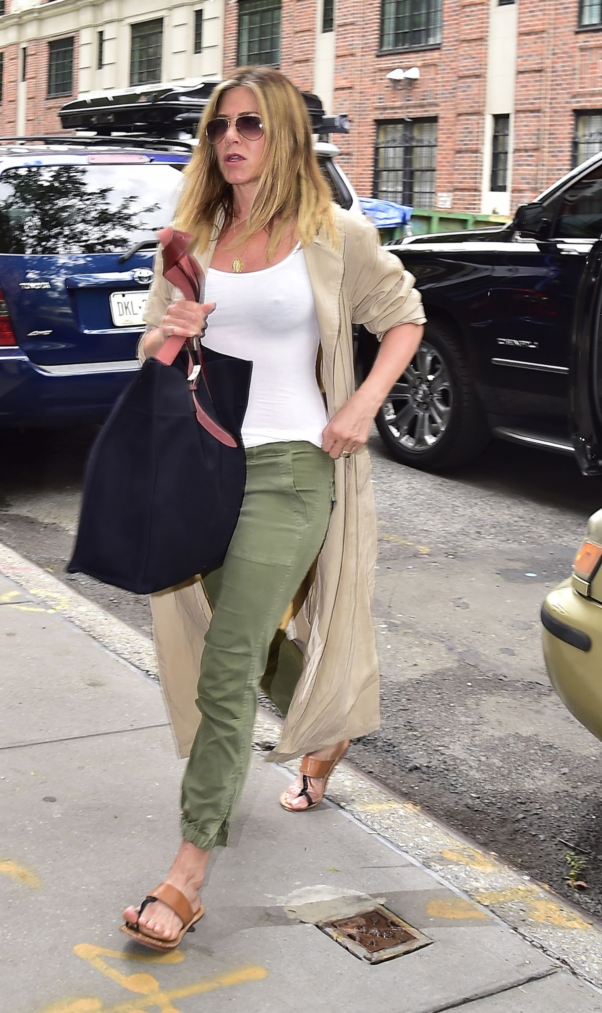 JENNIFER ANISTON Out in New York 06/16/2016