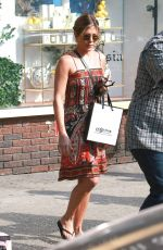 JENNIFER ANISTON Out Shopping in New York 06/20/2016