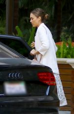 JESSICA ALBA at The Four Seasons Hotel in Beverly Hills 06/19/2016