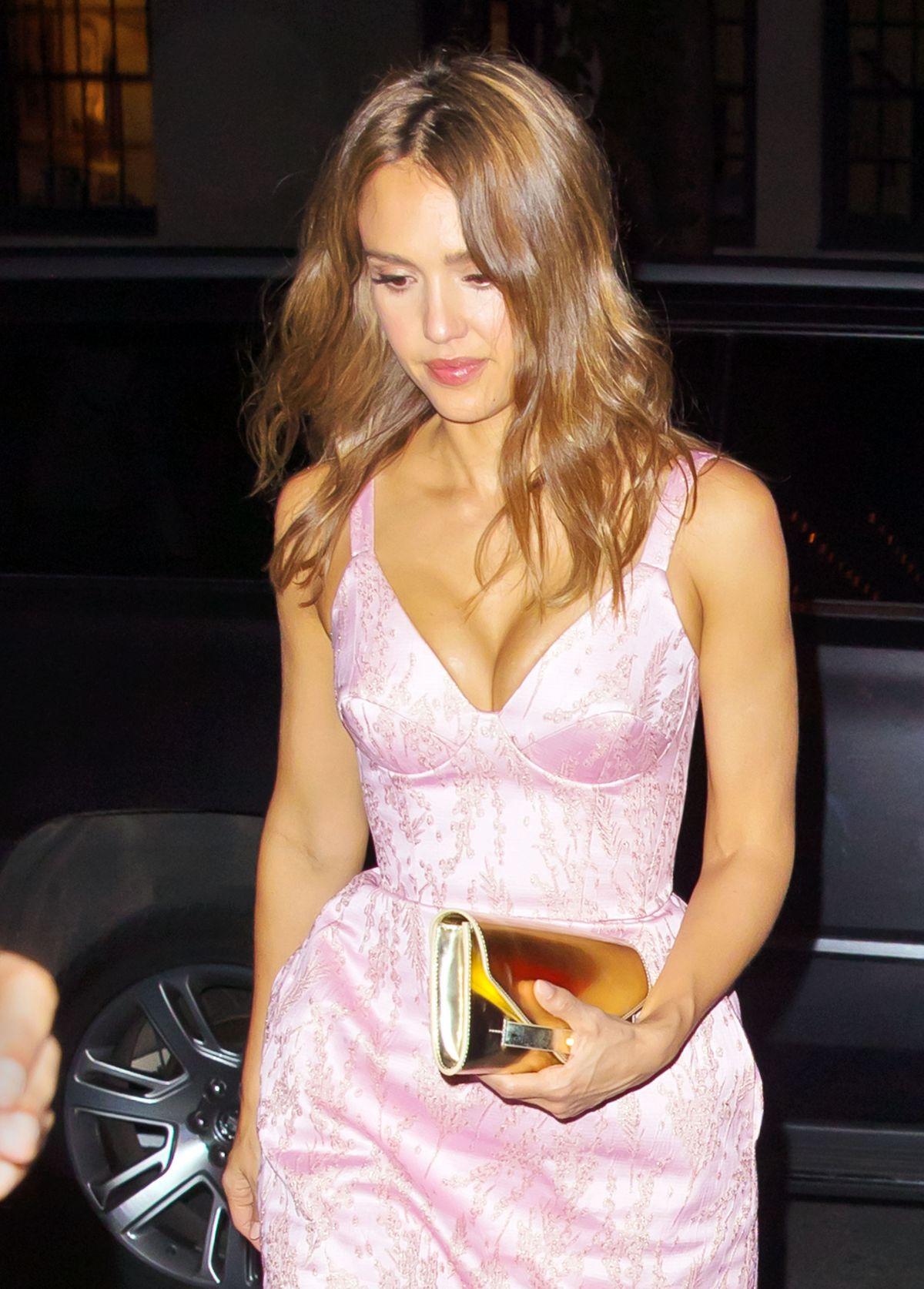 JESSICA ALBA Night Out in New York 06/16/2016