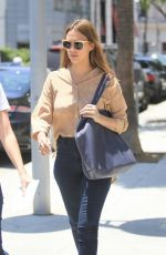 JESSICA ALBA Out for Lunch in Beverly Hills 06/20/2016