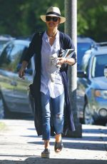 JESSICA ALBA Out in Beverly Hills 06/04/2016