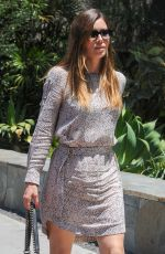 JESSICA BIEL Out and About in West Hollywood 06/23/2016