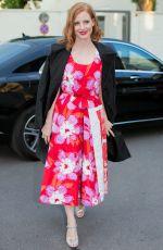 JESSICA CHASTAIN Arrives at Prada Foundation Dinner in Milan 06/19/2016