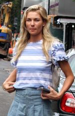 JESSICA HART Out and About in New York 06/23/2016