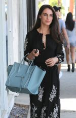 JESSICA LOWNDES Out and About in West Hollywood 06/24/2016