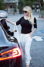 JESSICA SIMPSON Out and About in Los Angeles 06/08/2016