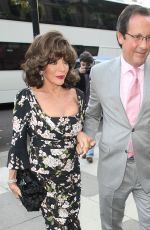 JOAN COLLINS at Summer Party at The Victoria and Albert Museum in London 06/22/2016