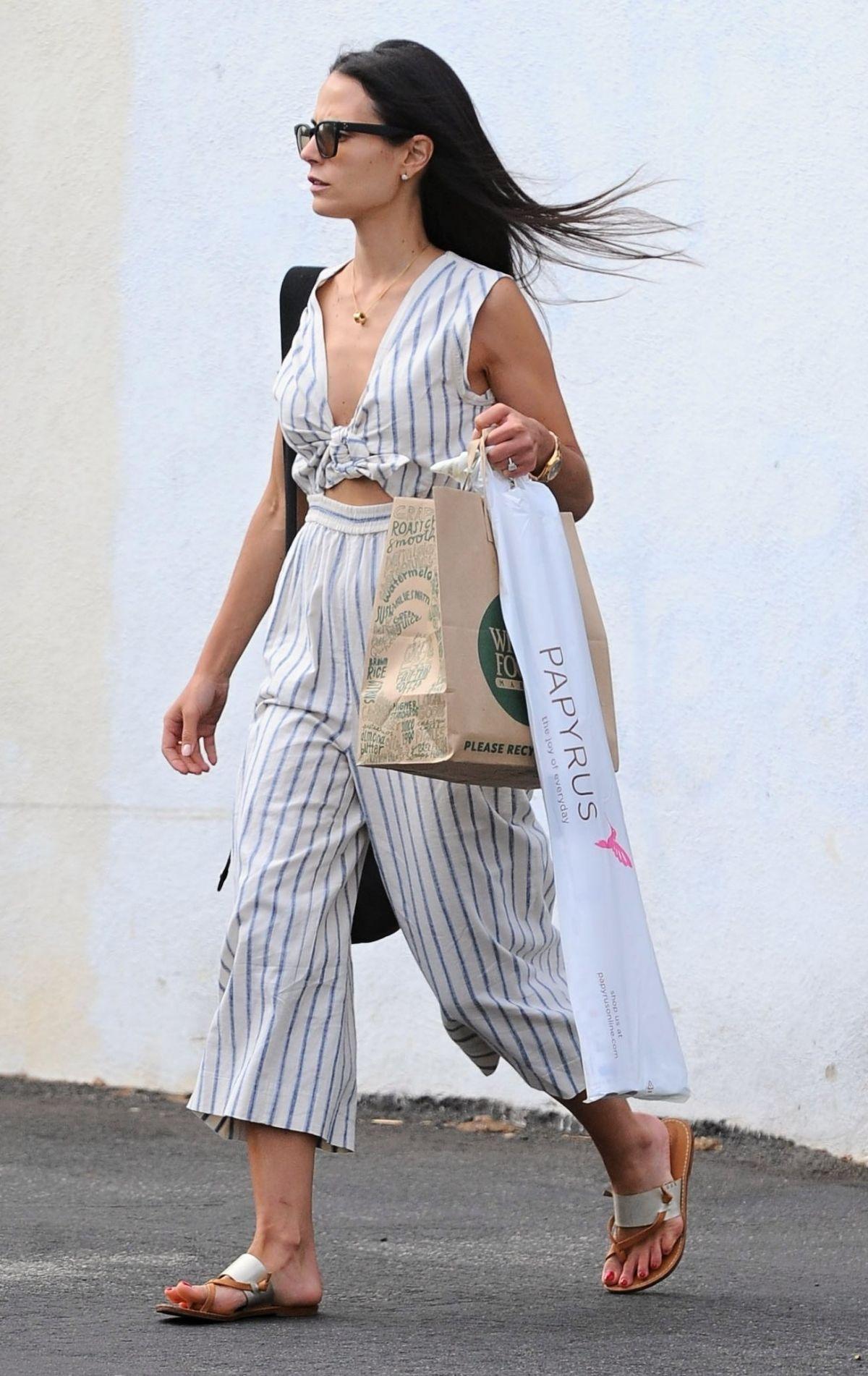 JORDANA BRESWSTER Out Shopping in Santa Monica 06/05/2016