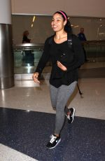 JORDIN SPARKS at LAX Airport in Los Angeles 06/16/2016